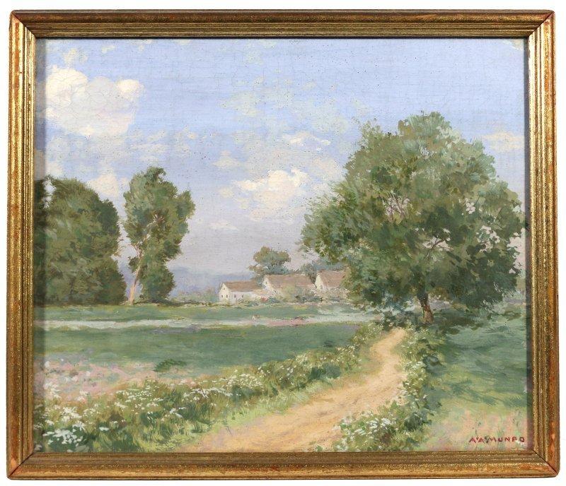 ALBERT A. MUNRO (American, b. 1868)