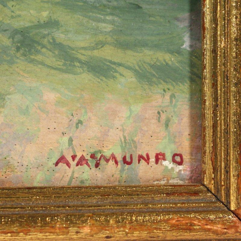 ALBERT A. MUNRO (American, b. 1868) - 4