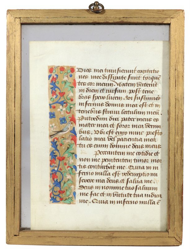 ILLUMINATED MANUSCRIPT PAGE - 2