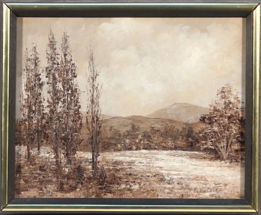(3pc) E. BUCKLER SEPIA TONED LANDSCAPES - 2