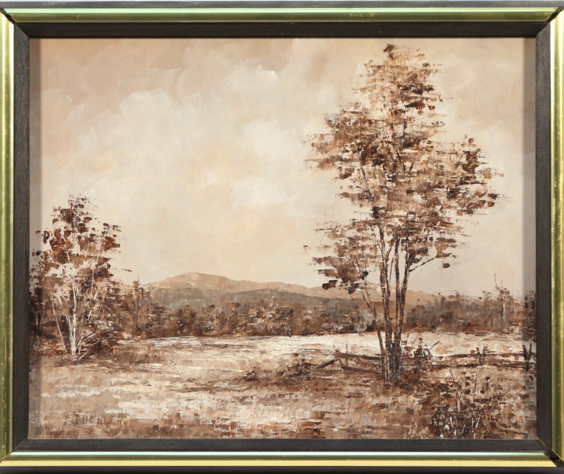 (3pc) E. BUCKLER SEPIA TONED LANDSCAPES - 4