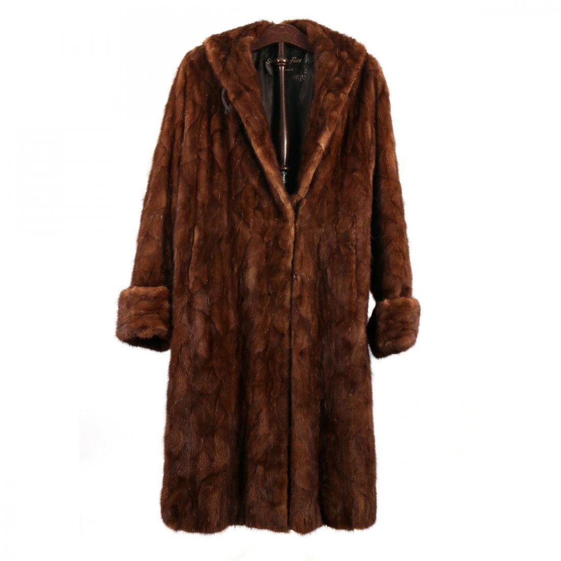 (4pc) LADY'S FUR & OTHER COATS