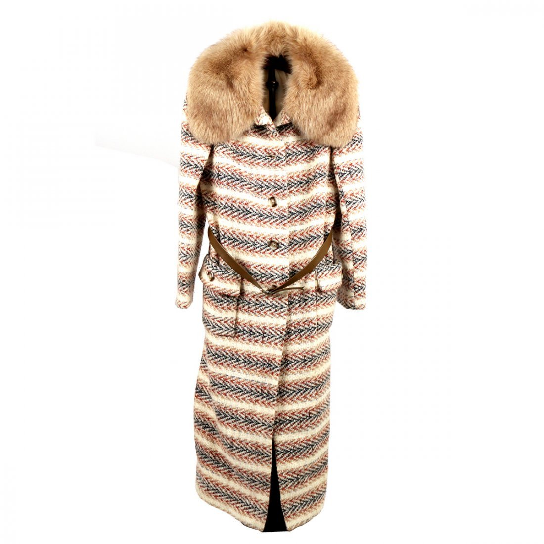 (4pc) LADY'S FUR & OTHER COATS - 3