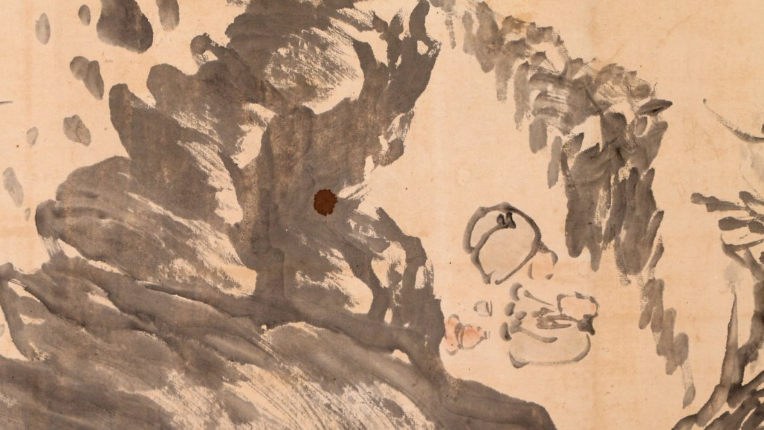 CHINESE HANGING SCROLL - 6
