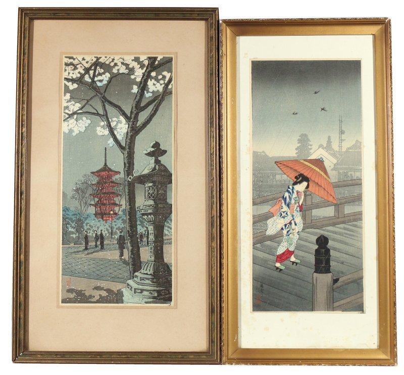 (7pc) JAPANESE WOODBLOCK PRINTS - 5