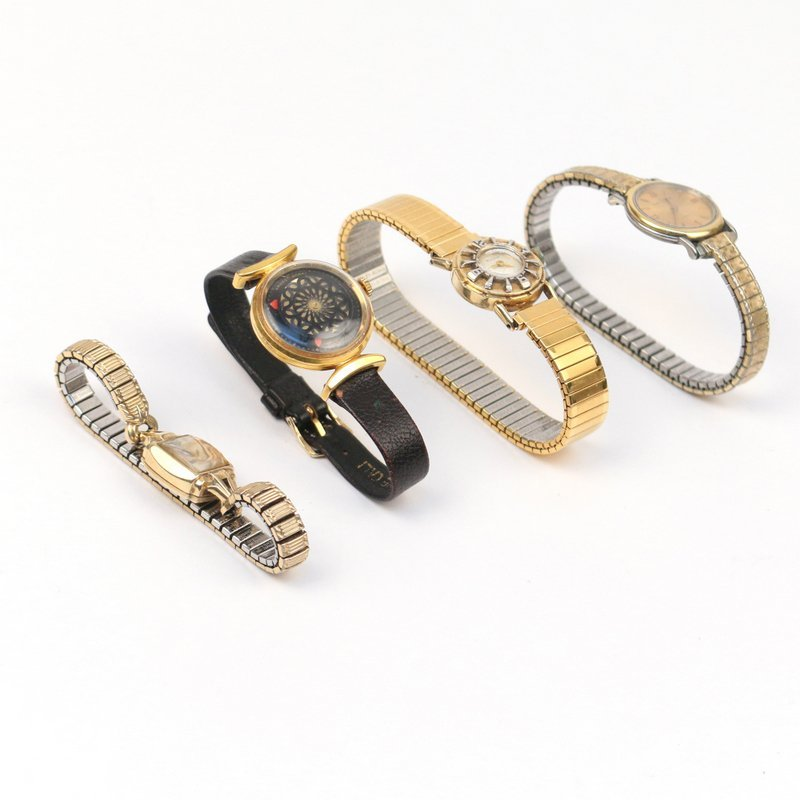 (4pc) LADY'S WRISTWATCHES - 4