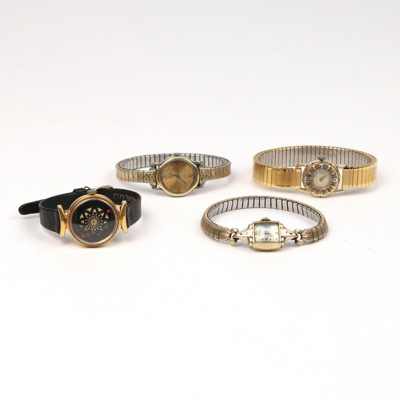 (4pc) LADY'S WRISTWATCHES - 6