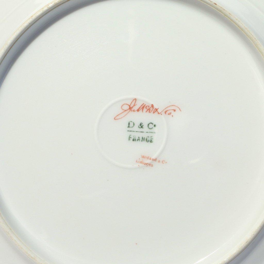(53pc) VARIOUS GILT LIMOGES PLATES - 7