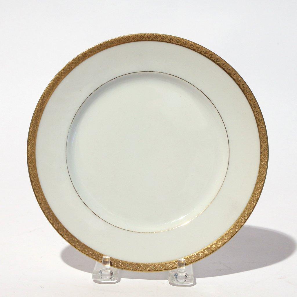 (53pc) VARIOUS GILT LIMOGES PLATES - 8