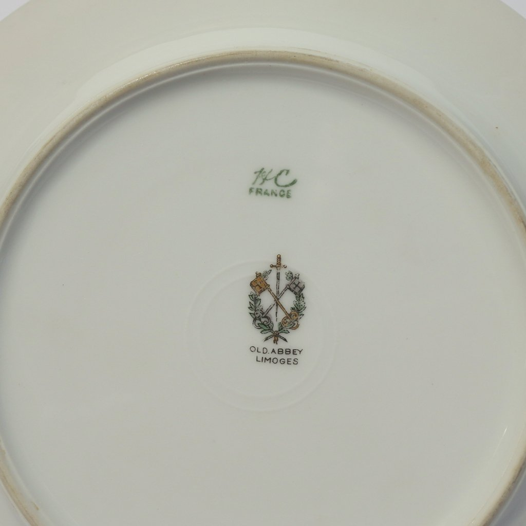 (53pc) VARIOUS GILT LIMOGES PLATES - 9