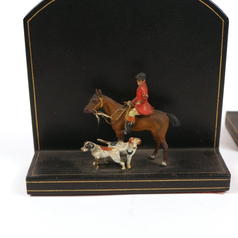 LONDON HARNESS Co. BOOK ENDS - 2
