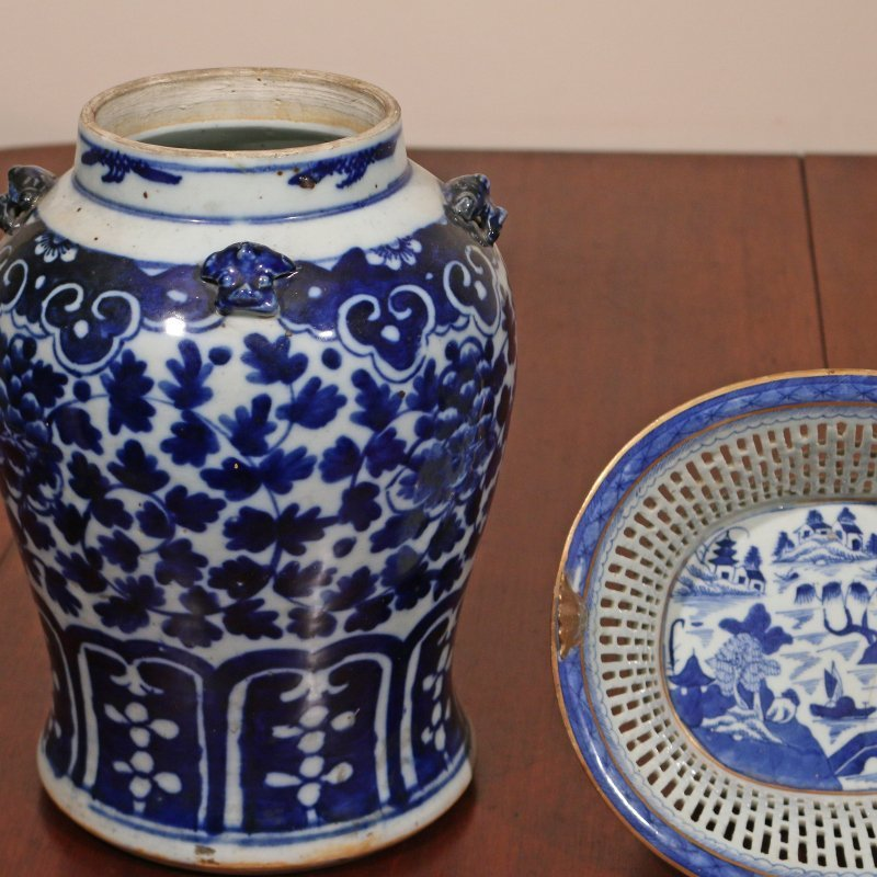 (3pc) CHINESE EXPORT PORCELAIN - 2