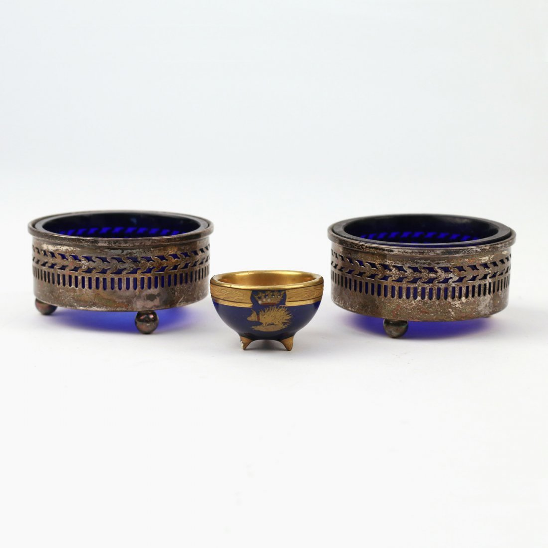 (3pc) SALT CELLARS