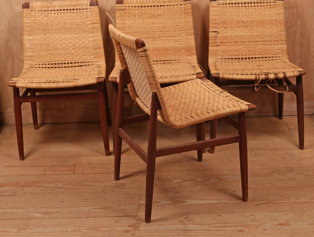 (4pc) THORALD MADSENS SIDE CHAIRS - 2
