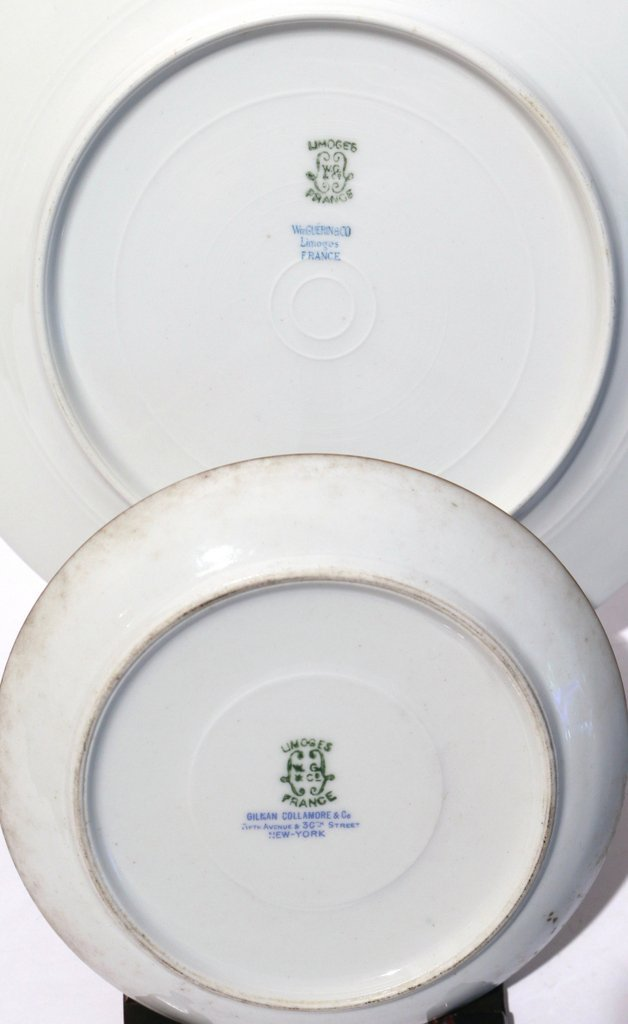 (63pc) LIMOGES AND OTHER VARIOUS PLATES - 10