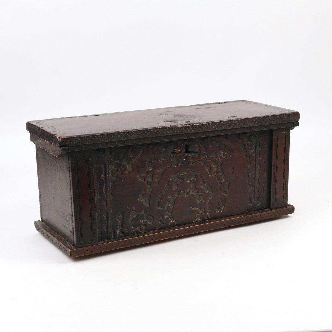 EARLY CHERRY DOCUMENT BOX
