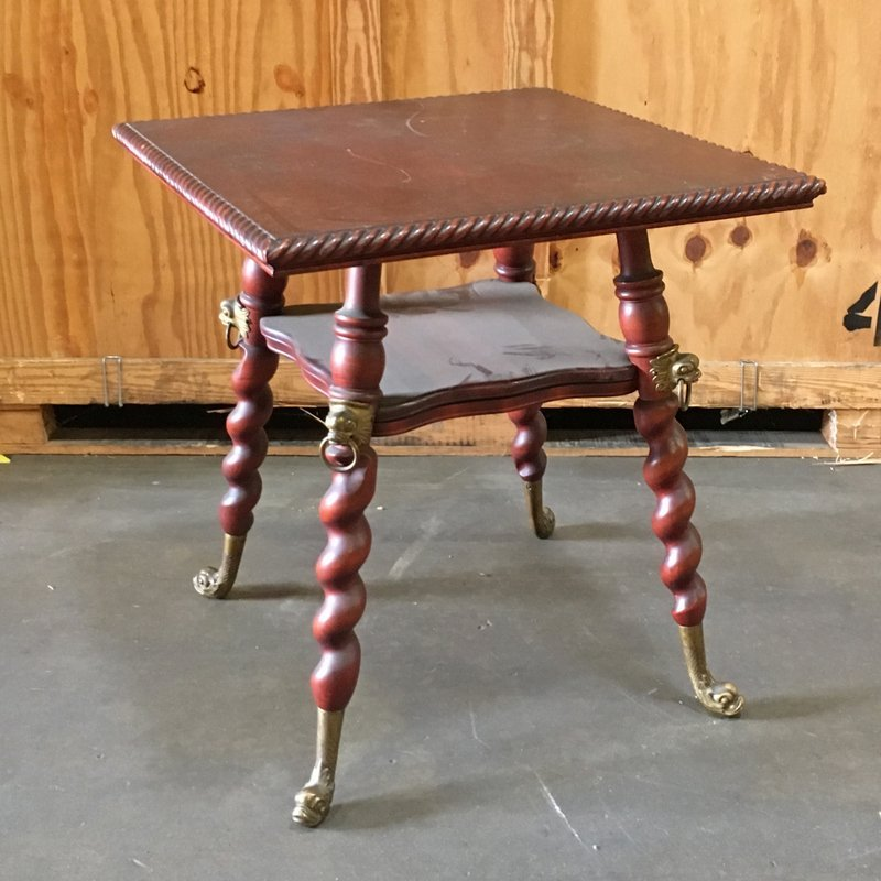 VICTORIAN PARLOUR SIDE TABLE