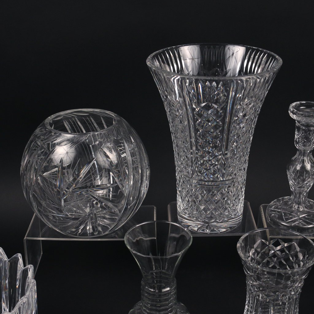 (11pc) MISC. CRYSTAL AND GLASS - 3