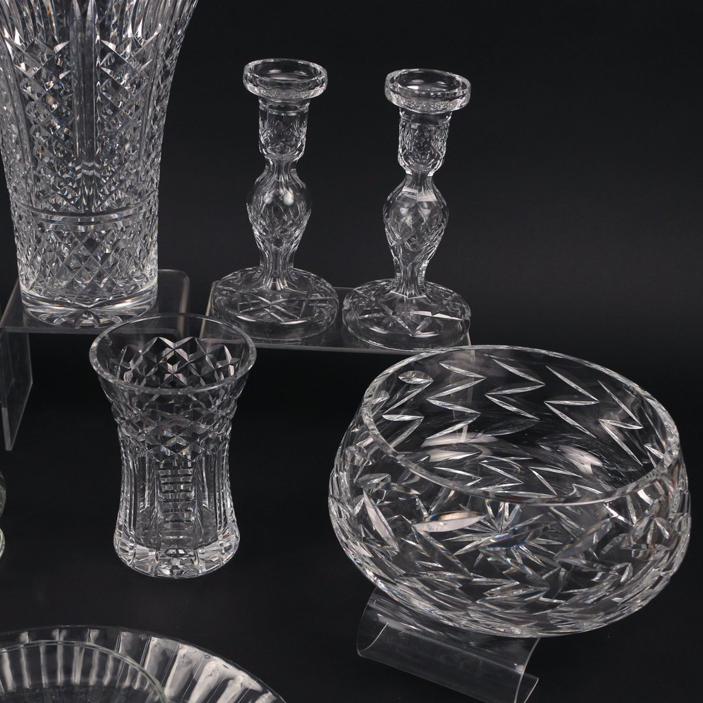 (11pc) MISC. CRYSTAL AND GLASS - 4