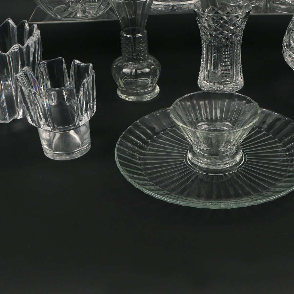 (11pc) MISC. CRYSTAL AND GLASS - 5
