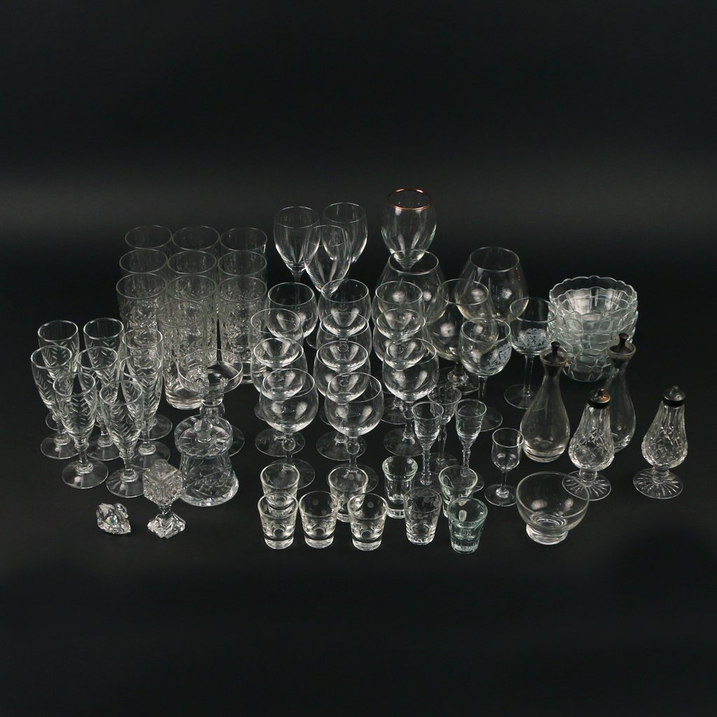 LARGE LOT OF MISC. GLASS