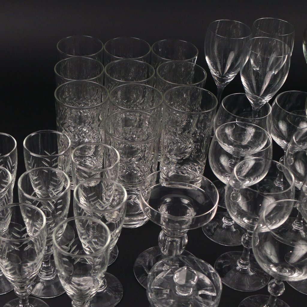 LARGE LOT OF MISC. GLASS - 2