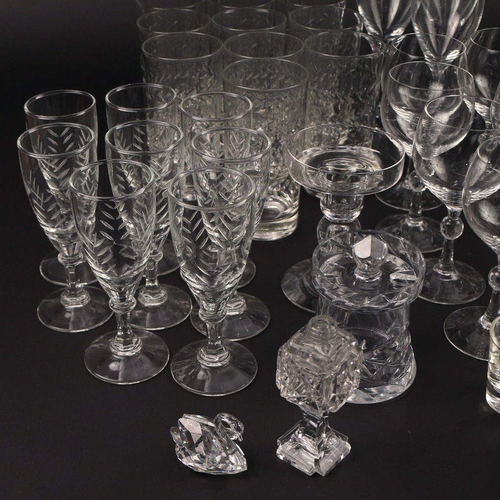 LARGE LOT OF MISC. GLASS - 3