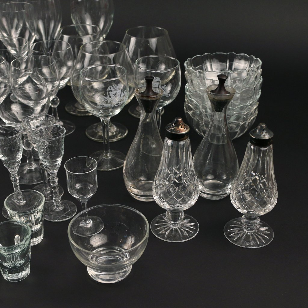 LARGE LOT OF MISC. GLASS - 4