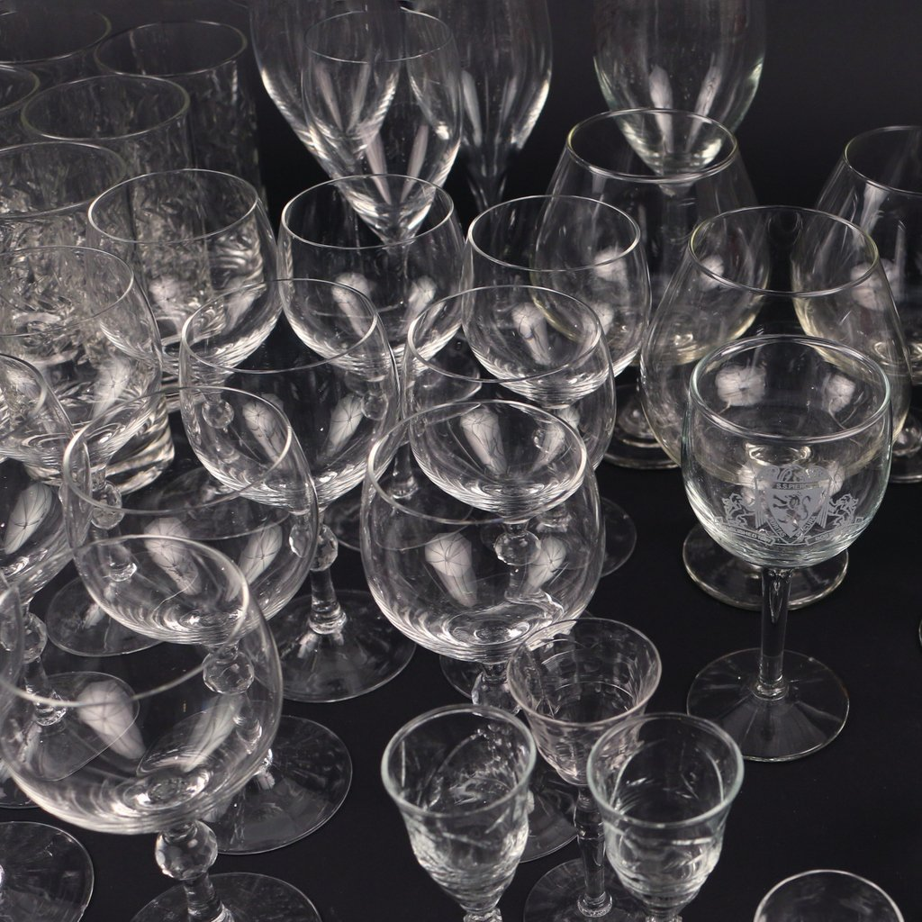 LARGE LOT OF MISC. GLASS - 6