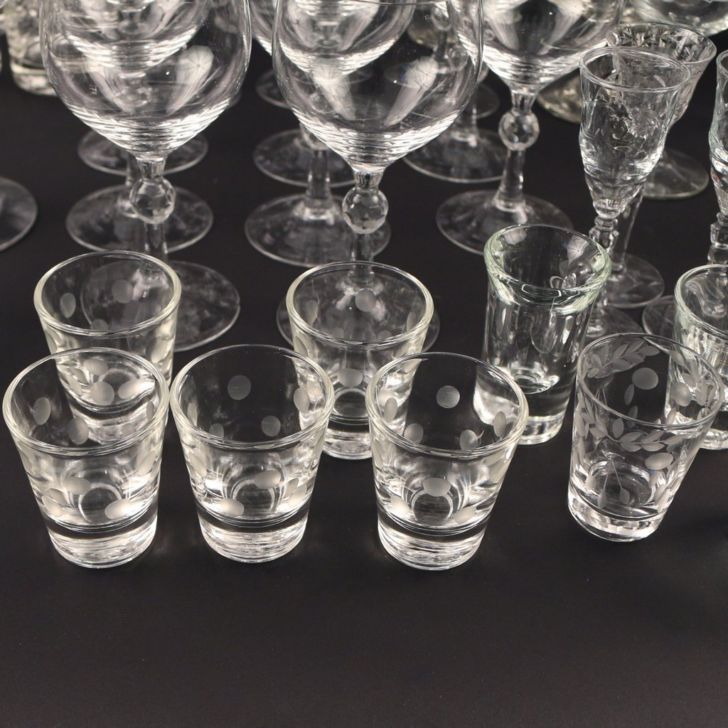 LARGE LOT OF MISC. GLASS - 7