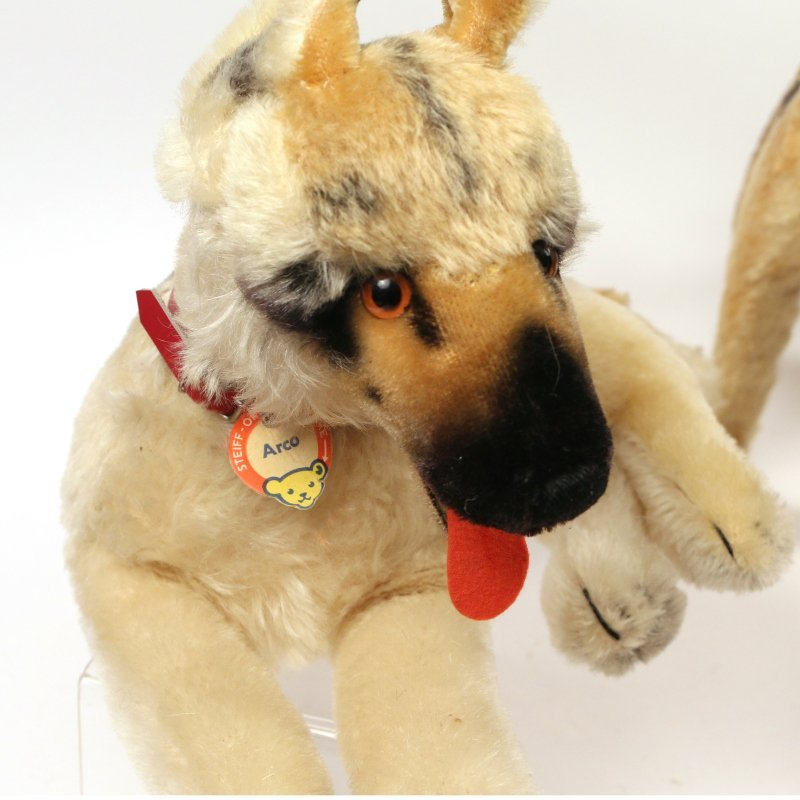 (10pc) STEIFF STUFFED DOGS - 4