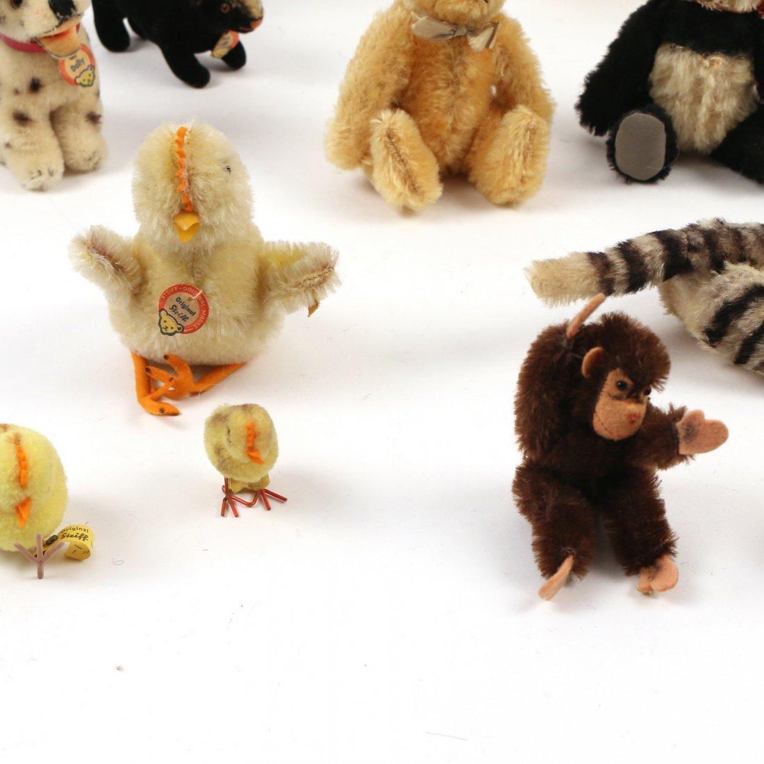 (20pc) STEIFF MINIATURE STUFFED ANIMALS - 2