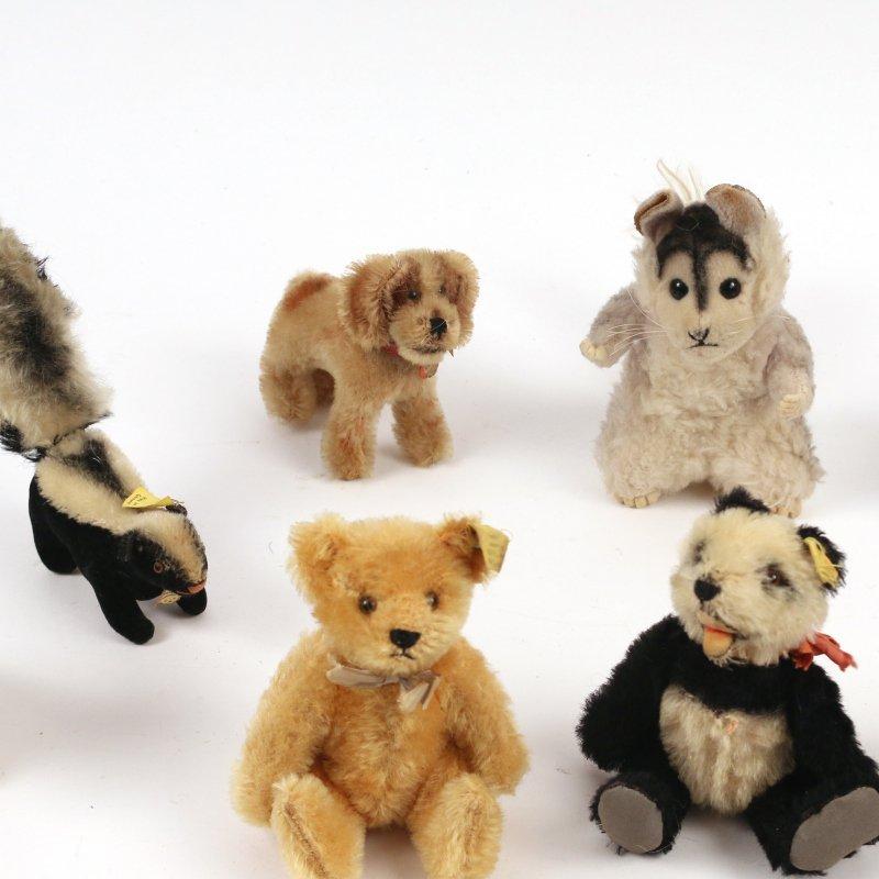 (20pc) STEIFF MINIATURE STUFFED ANIMALS - 6