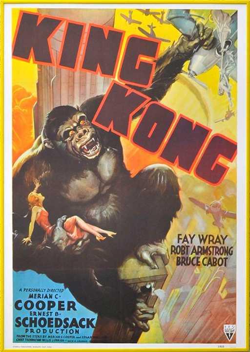 Vintage King Kong Movie Poster