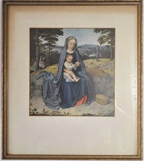 Gerard David The Rest On The Flight Into Egypt