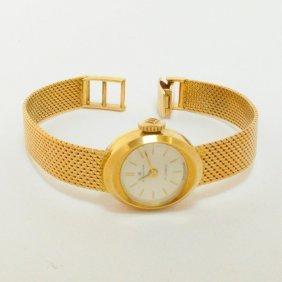Stunning Vintage Bucherer Ladies Watch 18kt Gold