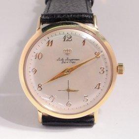 Vintage Jules Jurgensen 14kt. Gold Watch