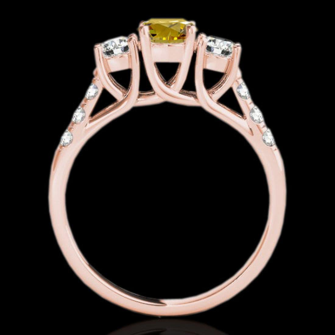3.25 CTW Certified Si Fancy Intense Yellow Diamond 3 - 2