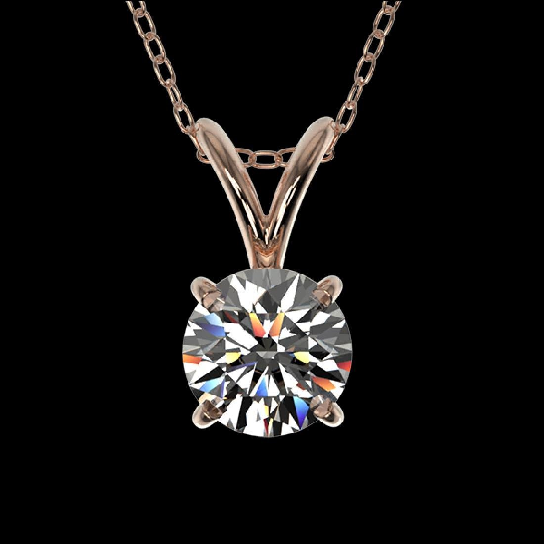 0.51 CTW Certified G-Si Quality Diamond Bridal