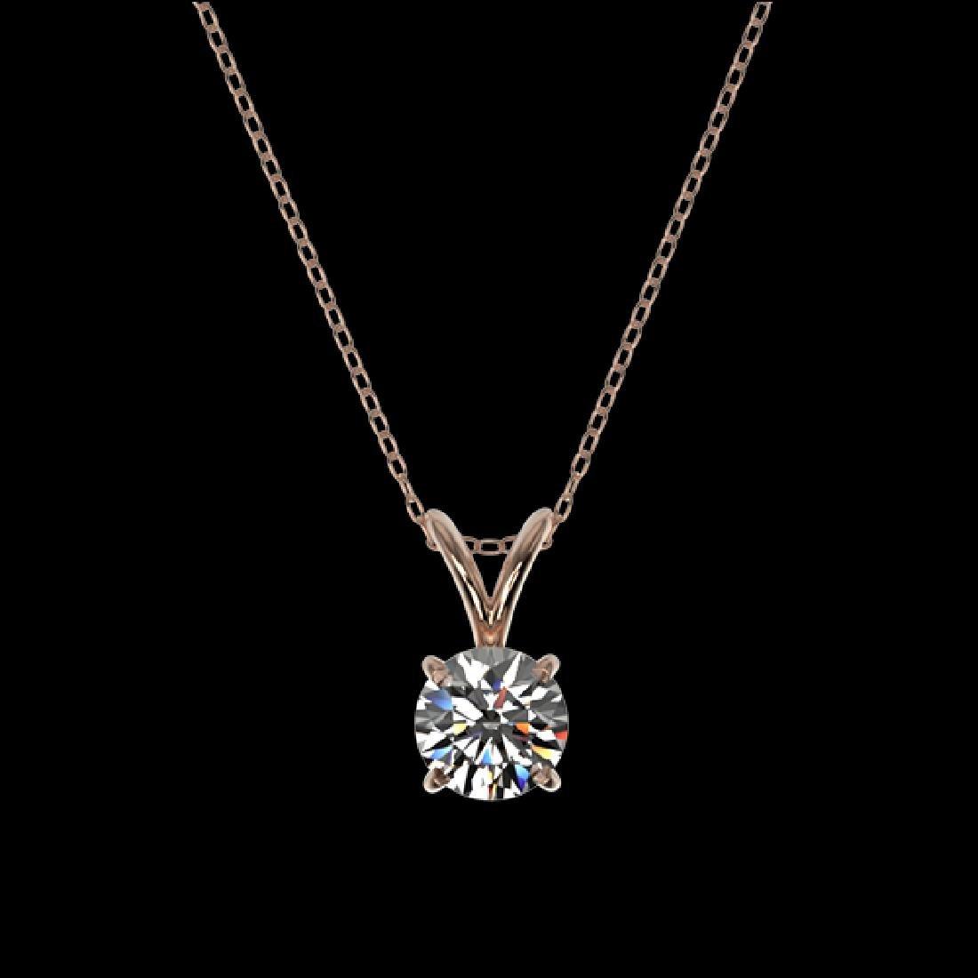 0.51 CTW Certified G-Si Quality Diamond Bridal - 3