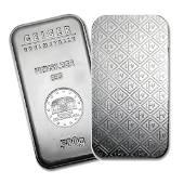 One piece 500 gram 0999 Fine Silver Bar Geiger