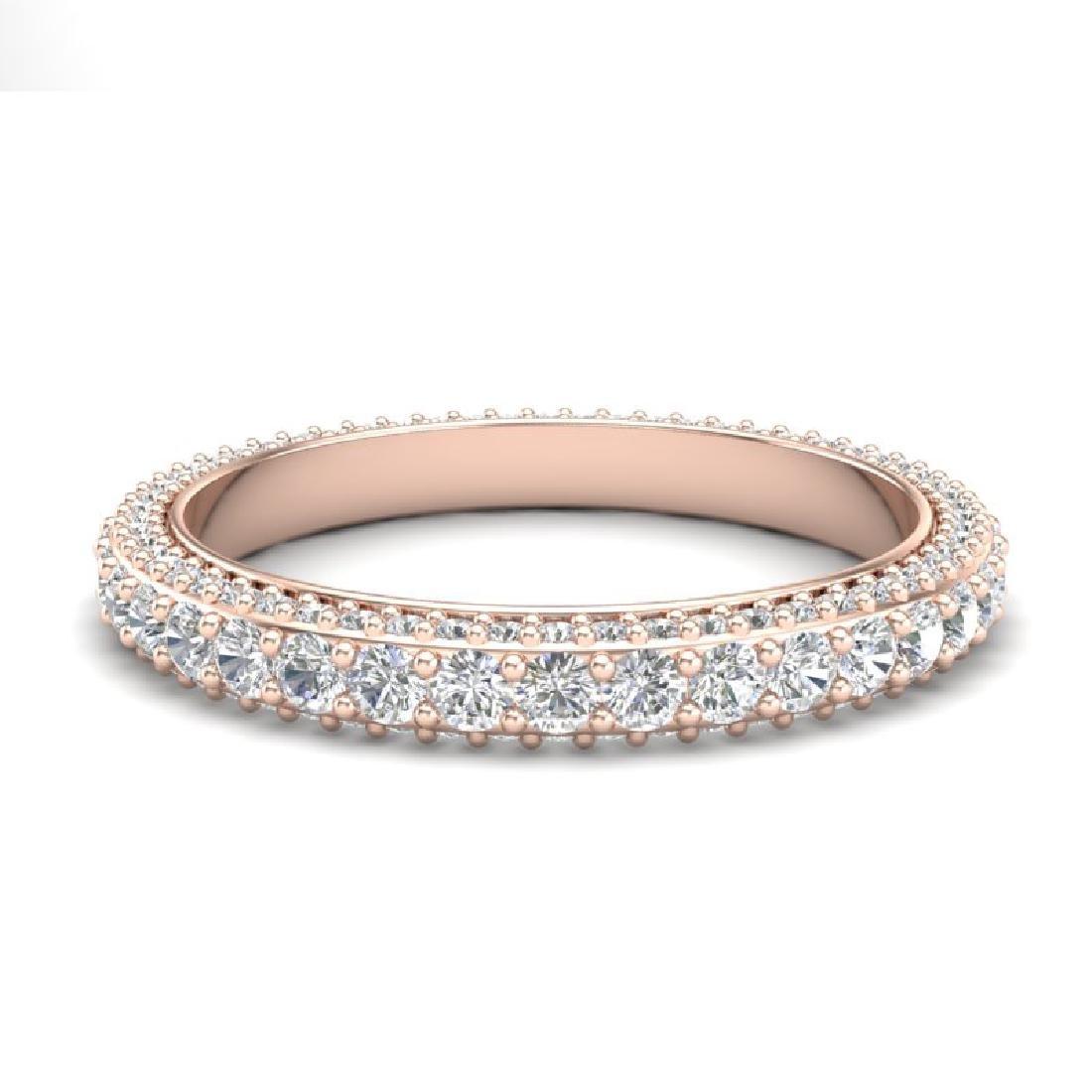 2.10 CTW VS/SI Diamond Art Deco Eternity Eternity Ring - 2