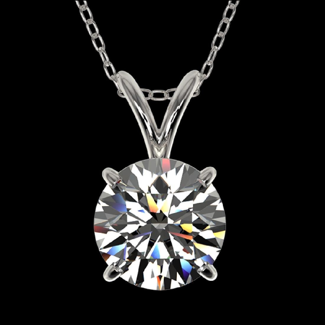 1.30 CTW Certified H-SI/I Quality Diamond Solitaire