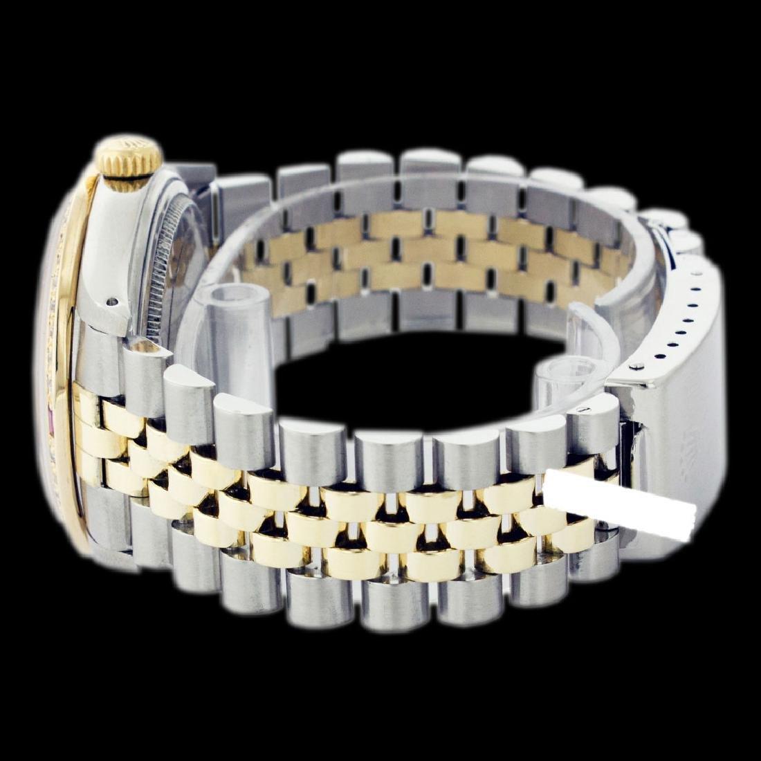 Rolex Ladies Two Tone 14K Gold/SS, Roman Dial & - 3