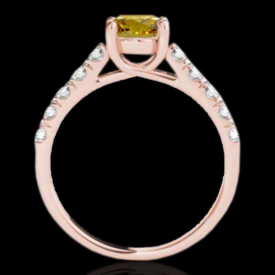 2.1 CTW Certified SI/I Fancy Intense Yellow Diamond - 2