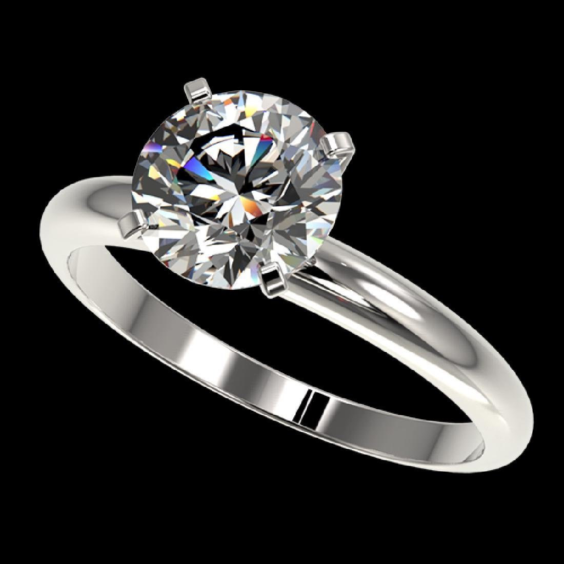 2 CTW Certified H-SI/I Quality Diamond Solitaire
