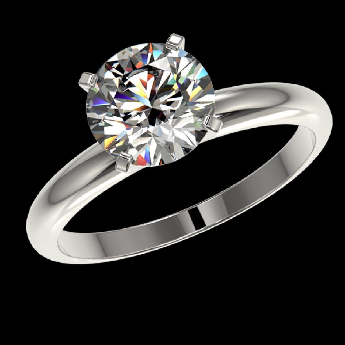 2 CTW Certified H-SI/I Quality Diamond Solitaire - 2