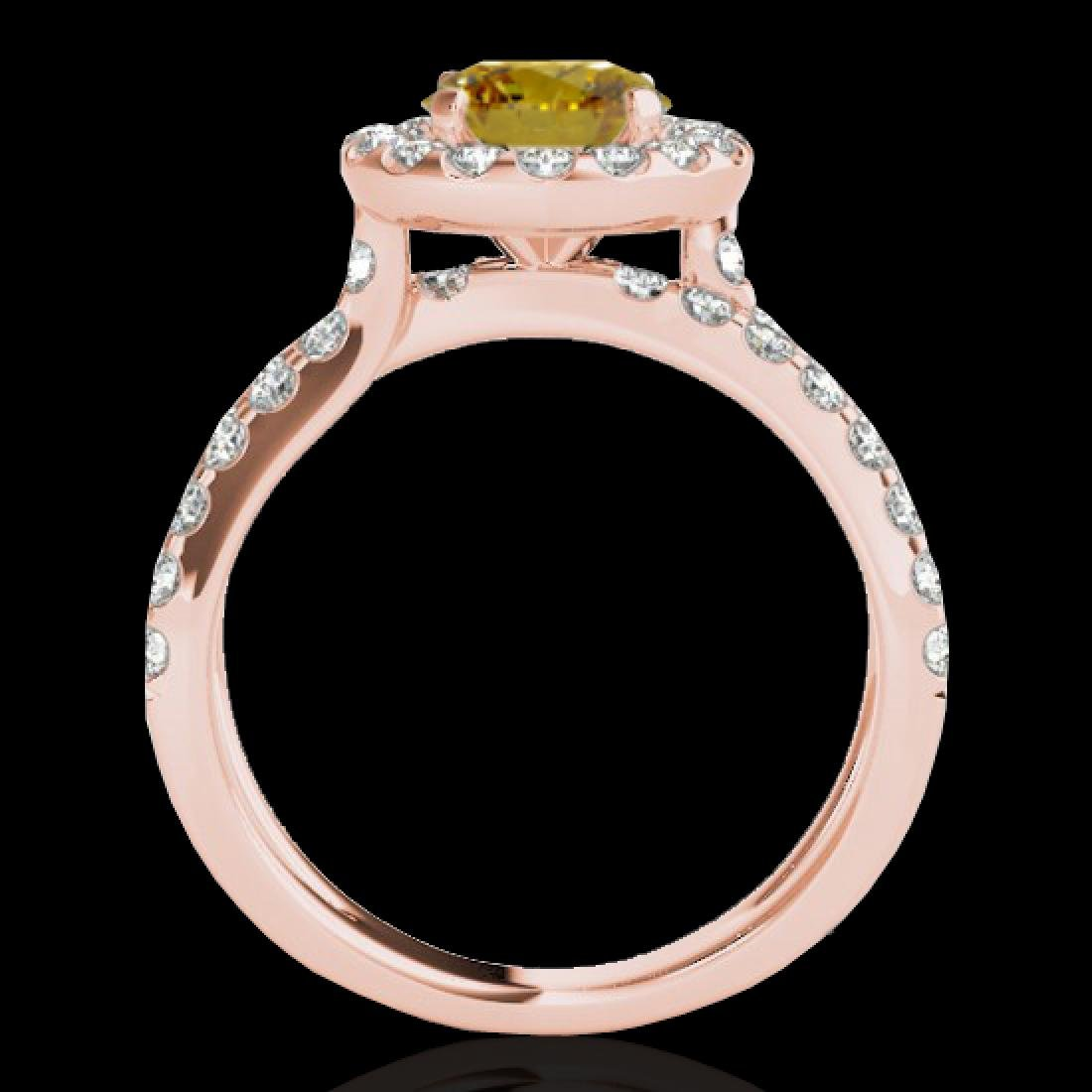 2.01 CTW Certified SI/I Fancy Intense Yellow Diamond - 2
