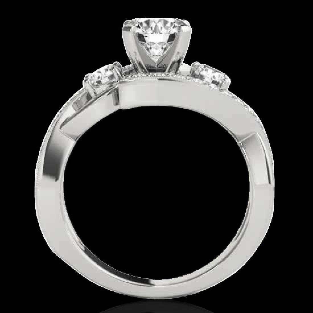 2.26 CTW H-SI/I Certified Diamond Bypass Solitaire Ring - 2