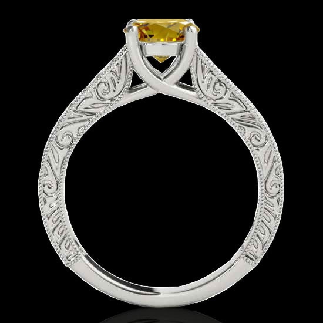 1.82 CTW Certified SI/I Fancy Intense Yellow Diamond - 2